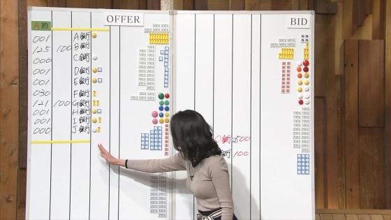 小川彩佳 Dカップ着衣巨乳を披露する報道ステーションキャプ 画像31枚 25