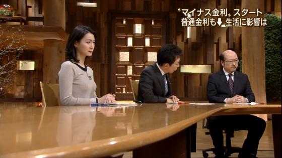 小川彩佳 Dカップ着衣巨乳を披露する報道ステーションキャプ 画像31枚 27