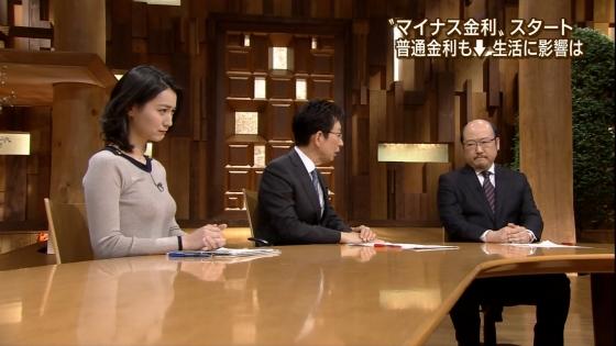 小川彩佳 Dカップ着衣巨乳を披露する報道ステーションキャプ 画像31枚 28