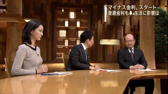 小川彩佳 Dカップ着衣巨乳を披露する報道ステーションキャプ 画像31枚 29