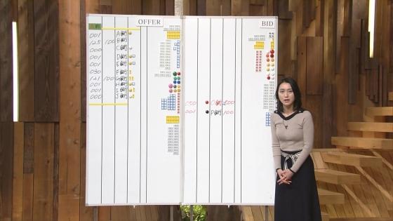 小川彩佳 Dカップ着衣巨乳を披露する報道ステーションキャプ 画像31枚 8
