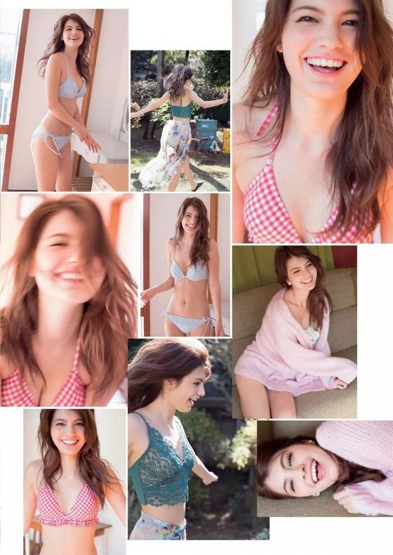 マギー Cカップ水着姿を披露したヤングマガジングラビア 画像34枚 12
