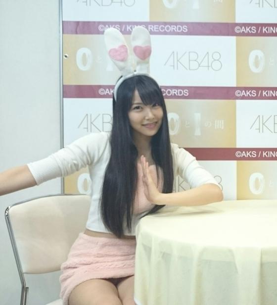 白間美瑠 写メ会で可愛いポーズをしながら大胆パンチラ 画像6枚 4
