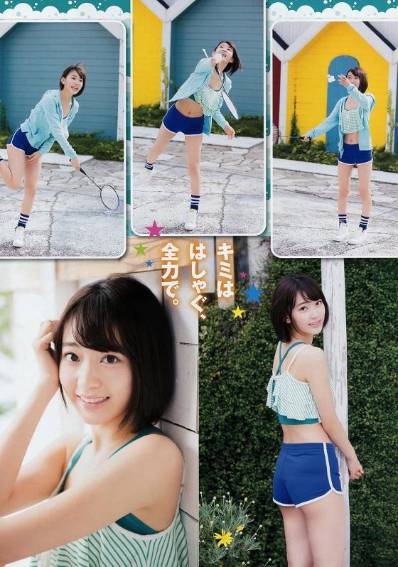 宮脇咲良 水着姿のCカップ谷間を強調したヤンチャングラビア 画像32枚 8