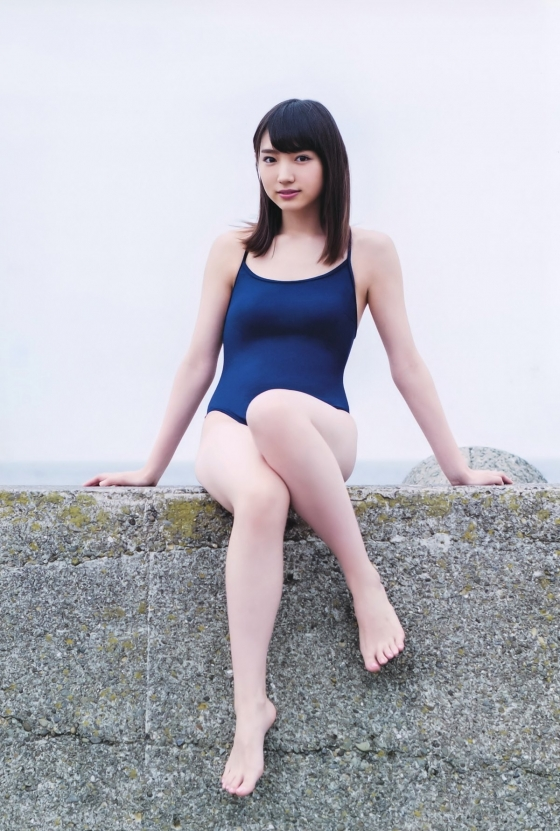 太田夢莉 BOMBのスクール水着Dカップ谷間 画像28枚 3