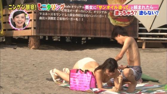 鈴木ふみ奈 モニタリング仕掛け人のHカップ水着姿で素人を悩殺 画像26枚 10