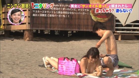 鈴木ふみ奈 モニタリング仕掛け人のHカップ水着姿で素人を悩殺 画像26枚 11