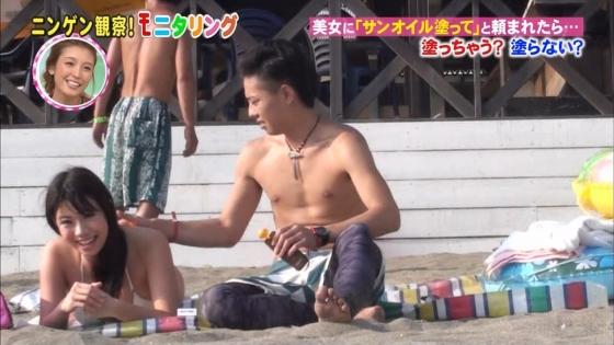 鈴木ふみ奈 モニタリング仕掛け人のHカップ水着姿で素人を悩殺 画像26枚 12