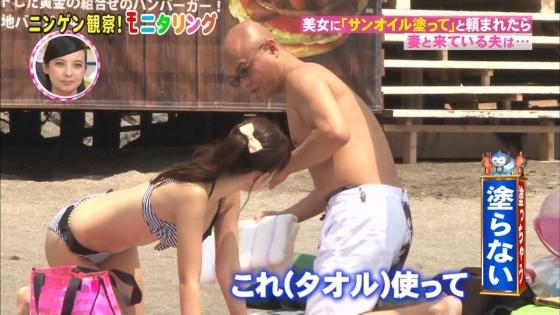 鈴木ふみ奈 モニタリング仕掛け人のHカップ水着姿で素人を悩殺 画像26枚 13