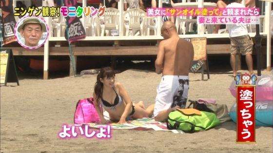 鈴木ふみ奈 モニタリング仕掛け人のHカップ水着姿で素人を悩殺 画像26枚 15
