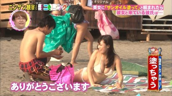 鈴木ふみ奈 モニタリング仕掛け人のHカップ水着姿で素人を悩殺 画像26枚 5