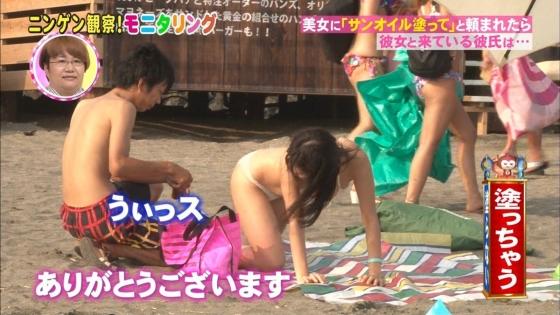 鈴木ふみ奈 モニタリング仕掛け人のHカップ水着姿で素人を悩殺 画像26枚 6