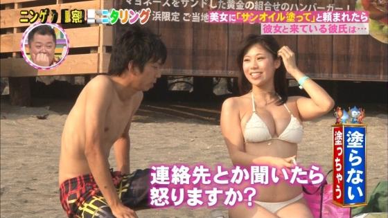 鈴木ふみ奈 モニタリング仕掛け人のHカップ水着姿で素人を悩殺 画像26枚 8