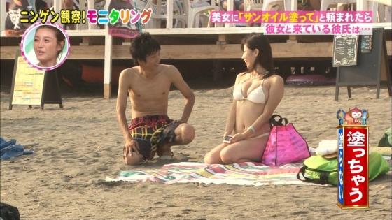 鈴木ふみ奈 モニタリング仕掛け人のHカップ水着姿で素人を悩殺 画像26枚 9