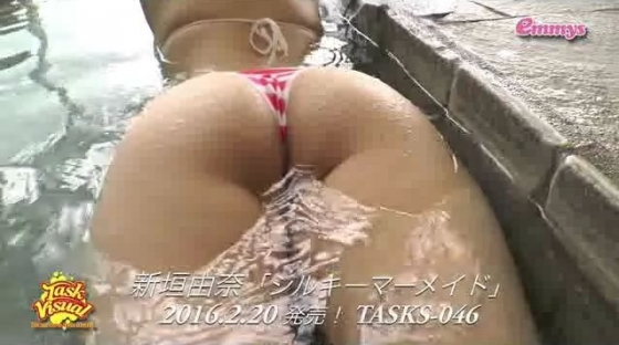 新垣由奈 シルキーマーメイドの陰毛剃り跡やクリポチ股間キャプ 画像28枚 12