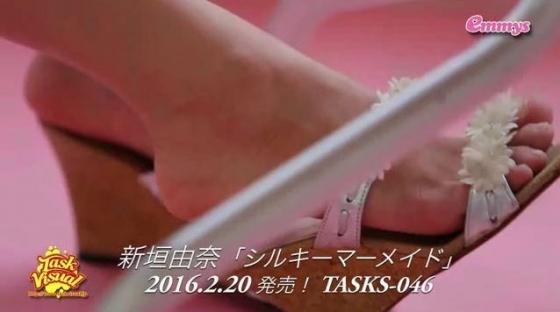 新垣由奈 シルキーマーメイドの陰毛剃り跡やクリポチ股間キャプ 画像28枚 4