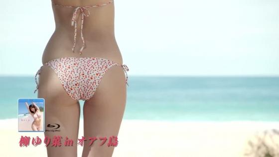 柳ゆり菜 週プレの水着姿Eカップ谷間と腋&腹筋見せグラビア 画像34枚 23
