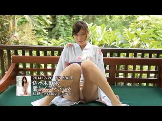 佐々木麻衣 愛してラフランスのむっちりお尻強調キャプ 画像43枚 35