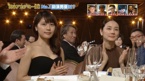 有村架純 日本アカデミー賞のDカップドレス姿キャプ 画像30枚 12
