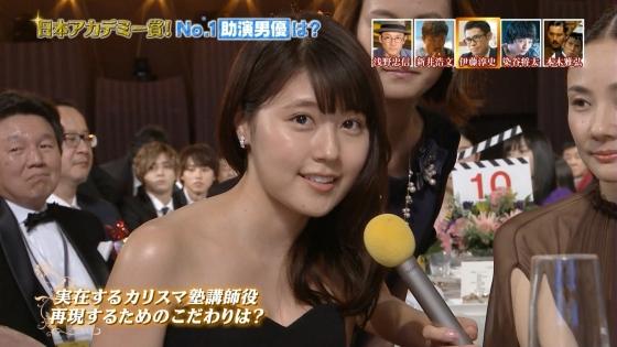 有村架純 日本アカデミー賞のDカップドレス姿キャプ 画像30枚 15
