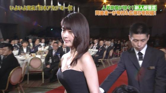 有村架純 日本アカデミー賞のDカップドレス姿キャプ 画像30枚 16