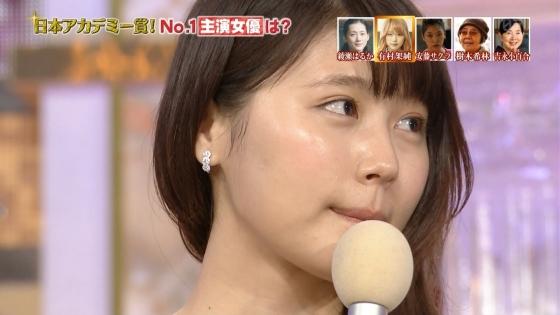 有村架純 日本アカデミー賞のDカップドレス姿キャプ 画像30枚 23