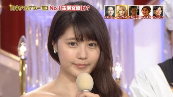有村架純 日本アカデミー賞のDカップドレス姿キャプ 画像30枚 27