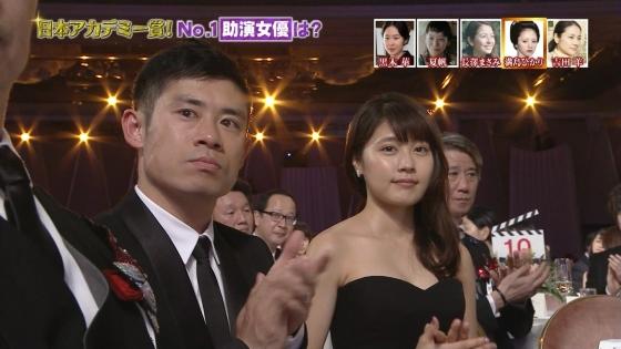 有村架純 日本アカデミー賞のDカップドレス姿キャプ 画像30枚 5