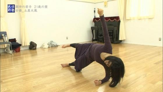 土屋太鳳 情熱大陸のダンスで魅せた着衣巨乳と腋汗キャプ 画像36枚 21