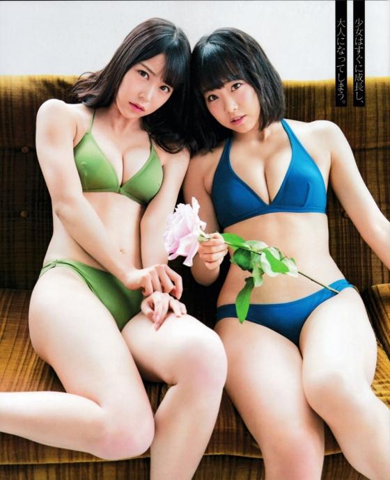白間美瑠 ヤングジャンプ水着姿Dカップ最新高画質グラビア 画像35枚 15