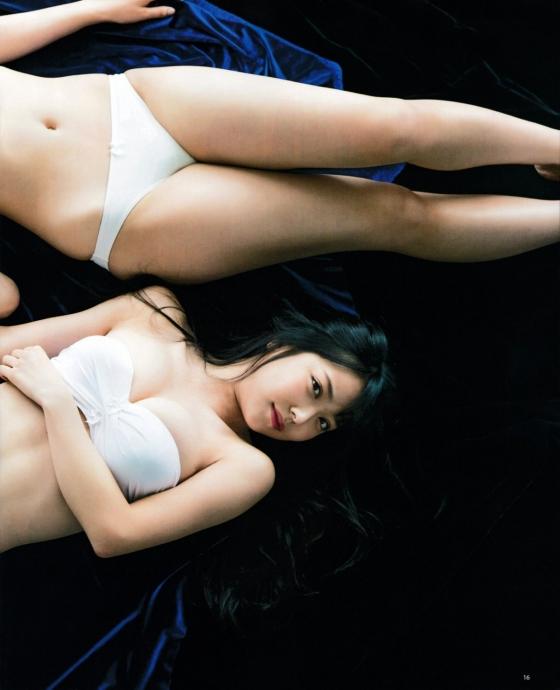 白間美瑠 ヤングジャンプ水着姿Dカップ最新高画質グラビア 画像35枚 20