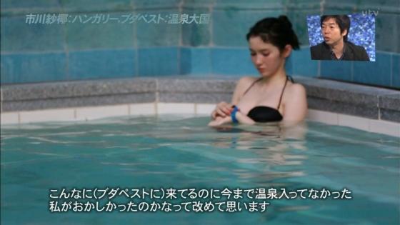 市川紗椰 Eカップ水着おっぱいが眩しいアナザースカイキャプ 画像26枚 17