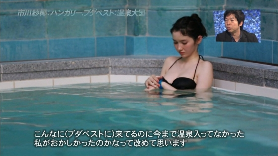 市川紗椰 Eカップ水着おっぱいが眩しいアナザースカイキャプ 画像26枚 9