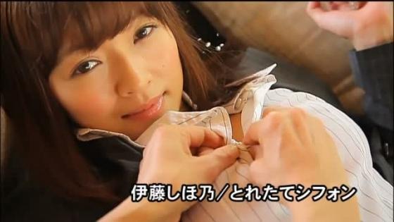 伊藤しほ乃 とれたてシフォンのGカップ爆乳&美尻キャプ 画像28枚 8