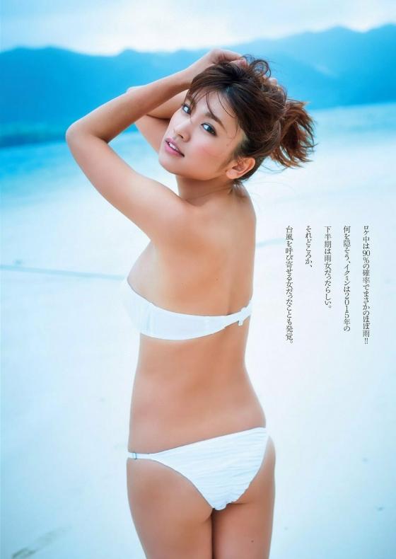 久松郁実 ヤンマガ最新号のFカップ谷間グラビア 画像34枚 22