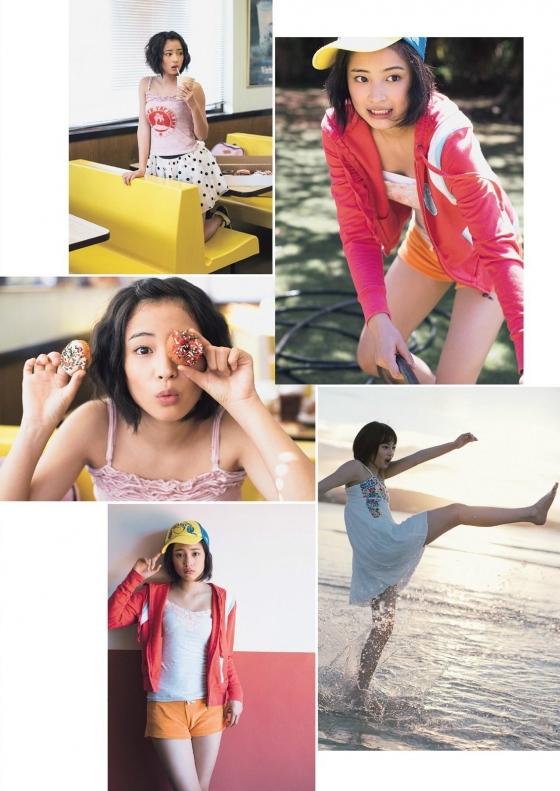 広瀬すず Dカップ水着姿を披露したヤンジャン最新号グラビア 画像30枚 4