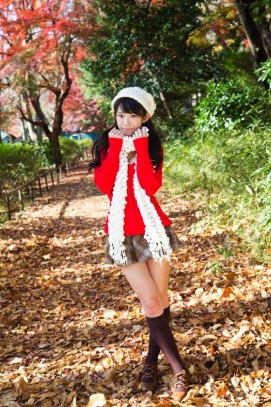 長澤茉里奈 まりちゅう日和ソフマップイベントのFカップ谷間 画像25枚 14