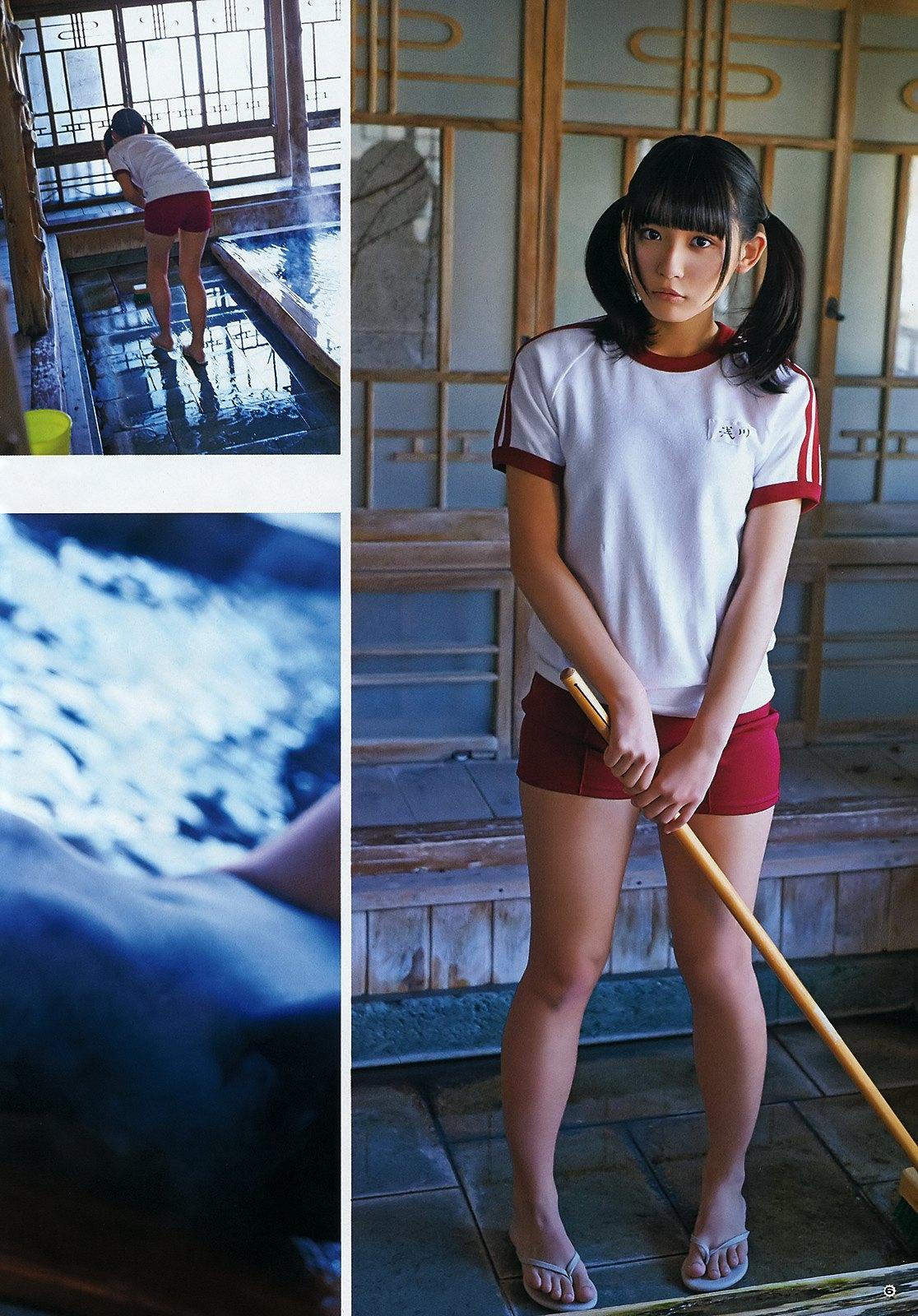 浅川梨奈 ヤングガンガンの最新Eカップ谷間水着グラビア 画像34枚 8