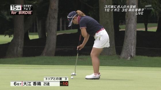 女子プロゴルフ パンチラや太ももに目が行くキャプ 画像63枚 10
