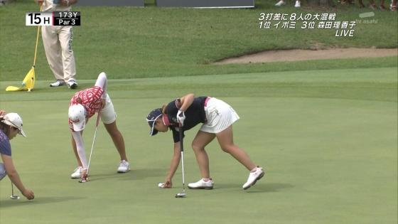 女子プロゴルフ パンチラや太ももに目が行くキャプ 画像63枚 11
