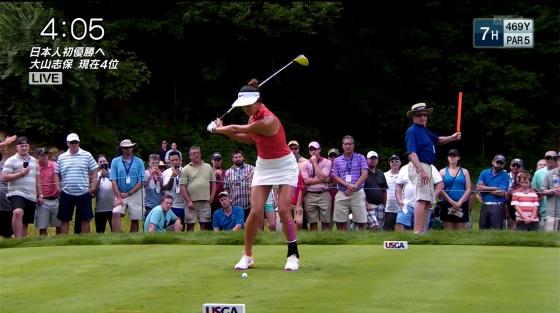 女子プロゴルフ パンチラや太ももに目が行くキャプ 画像63枚 13