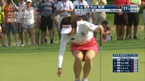 女子プロゴルフ パンチラや太ももに目が行くキャプ 画像63枚 15