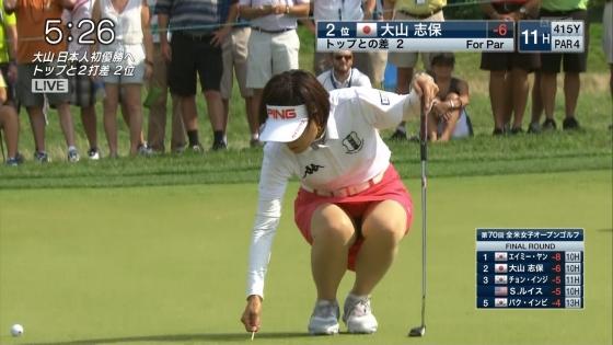 女子プロゴルフ パンチラや太ももに目が行くキャプ 画像63枚 16