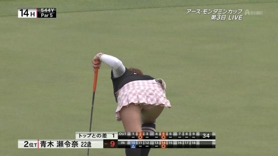 女子プロゴルフ パンチラや太ももに目が行くキャプ 画像63枚 1