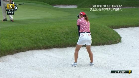 女子プロゴルフ パンチラや太ももに目が行くキャプ 画像63枚 21