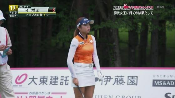 女子プロゴルフ パンチラや太ももに目が行くキャプ 画像63枚 24