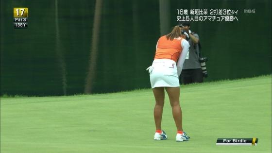 女子プロゴルフ パンチラや太ももに目が行くキャプ 画像63枚 26