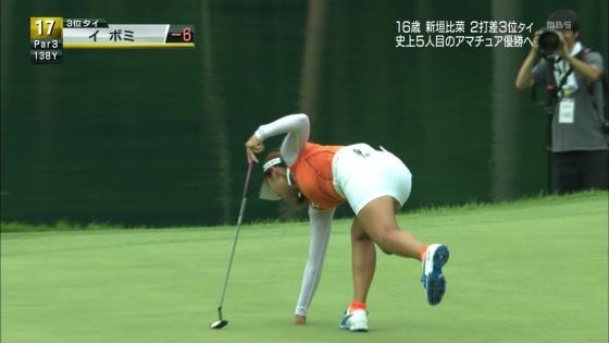 女子プロゴルフ パンチラや太ももに目が行くキャプ 画像63枚 27