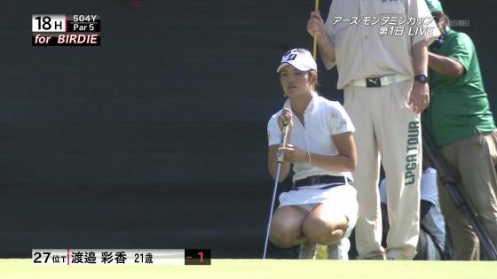 女子プロゴルフ パンチラや太ももに目が行くキャプ 画像63枚 2