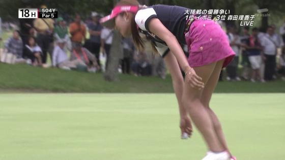 女子プロゴルフ パンチラや太ももに目が行くキャプ 画像63枚 31